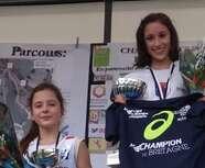 Championne de Bretagne ...