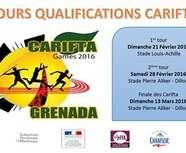 CARIFTA 1er Tour Dimanche 21 février au stade Louis Achille